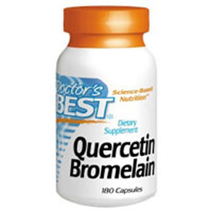 Quercetin Bromelain 180 Veggie Caps by Doctors Best