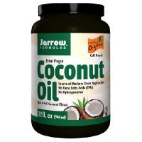Coconut Oil 100% Organic Extra Virgin 32 OZ by Jarrow Formulas (2584189370453)