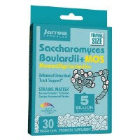 Saccharomyces Boulardii Plus MOS 30 Caps by Jarrow Formulas (2584242421845)