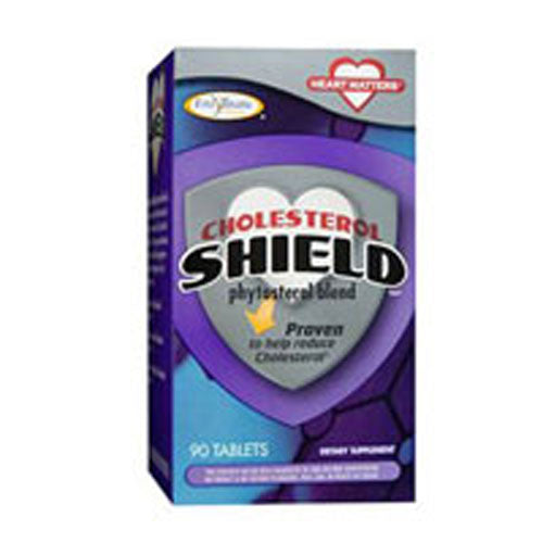 Cholesterol Shield 90 Tabs by Enzymatic Therapy