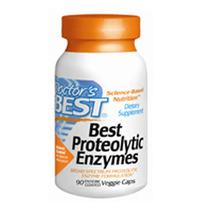 Proteolytic Enzymes 90 Veggie Caps by Doctors Best (2584249204821)