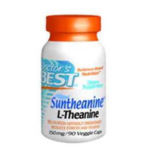 L-Theanine with Suntheanine 90 Veggie Caps by Doctors Best (2584249401429)