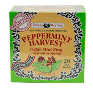 Peppermint Harvest Tea 20 Bag by Breezy Morning Teas (2588956196949)