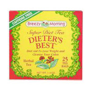 Dieter's Best Tea 20 Bag by Breezy Morning Teas (2588956786773)