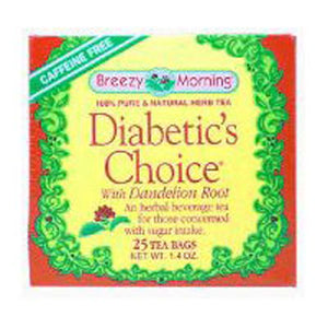 Diabetics Tea 20 Bag by Breezy Morning Teas (2588956885077)