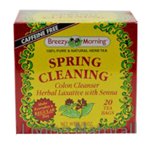 Spring Clean Tea 20 Bag by Breezy Morning Teas (2588956950613)