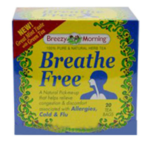 Breathe Free Tea 20 Bag by Breezy Morning Teas (2588957016149)