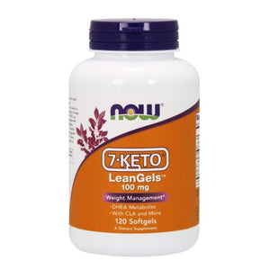 7-KETO LeanGels 120 Softgels by Now Foods (2587298627669)