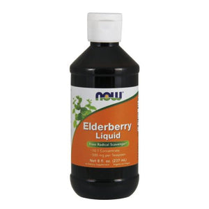 Elderberry Liquid 8 oz by Now Foods (2587298758741)