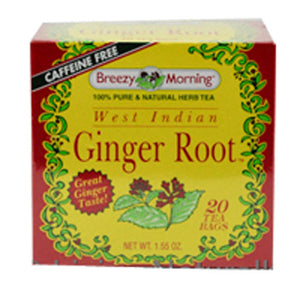 West Indian Gingertea 20 Bag by Breezy Morning Teas (2588957147221)