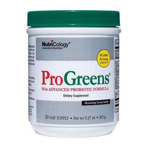 ProGreens Powder 9.27 OZ by Nutricology/ Allergy Research Group
