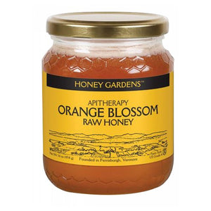 Raw Honey Orange Blossom, 1 lb by Honey Gardens Apiaries (2587302494293)
