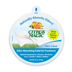 Solid Odor Absorber Pure Linen Case Of 6 /8 OZ by Citrus Magic (2587303247957)