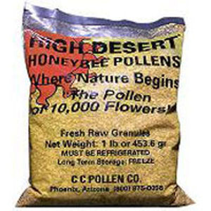 Bee Pollen High Desert Bag, 1 Lb by Cc Pollen
