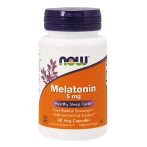 Melatonin 60 Vcaps by Now Foods (2587303346261)