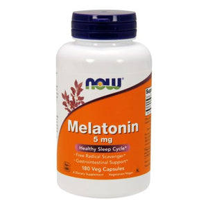 Melatonin 180 Caps by Now Foods (2587303411797)