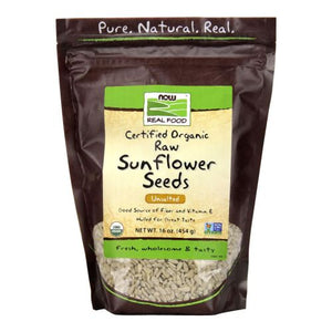 Sunflower Seeds, Organic 16 oz. by Now Foods