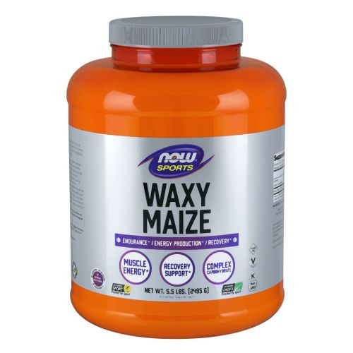 Waxy Maize Powder 5.5 lb by Now Foods