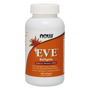 Eve Women's Multiple Vitamin 180 Softgels by Now Foods (2587304165461)