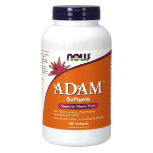 Adam Men's Multiple Vitamin 180 Softgels by Now Foods (2587304263765)