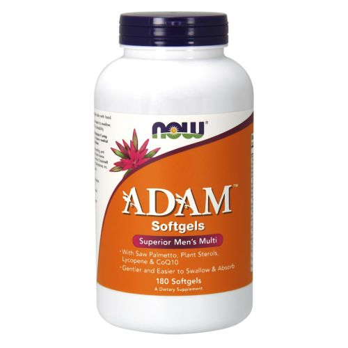 Adam Men's Multiple Vitamin 180 Softgels by Now Foods