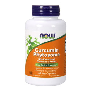 Curcumin Phytosome 60 Vcaps by Now Foods (2587304427605)