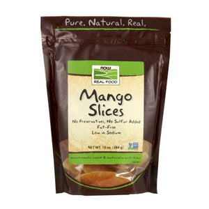 Mango Slices Low Sugar 10 oz by Now Foods (2587304656981)