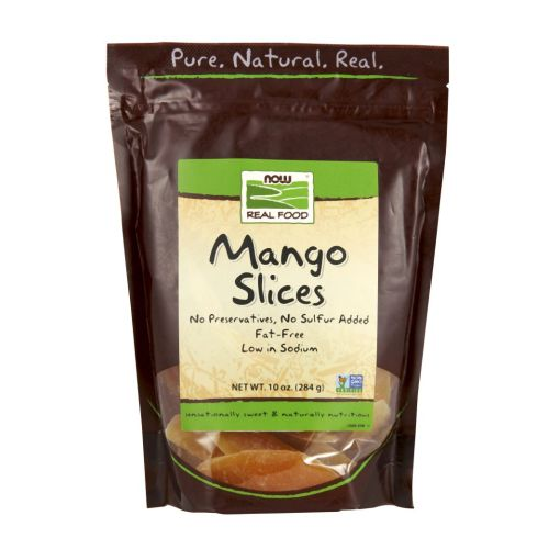 Mango Slices Low Sugar 10 oz by Now Foods