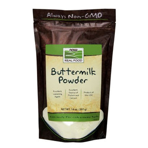 Buttermilk Powder 14 oz by Now Foods