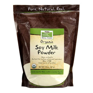 Soy Milk Powder (Instant) 20 oz by Now Foods (2589112434773)