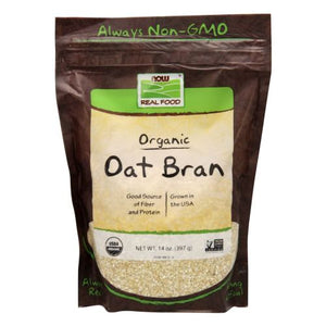 Oat Bran 14 oz by Now Foods