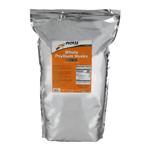 Psyllium Husks Whole 10 lb by Now Foods