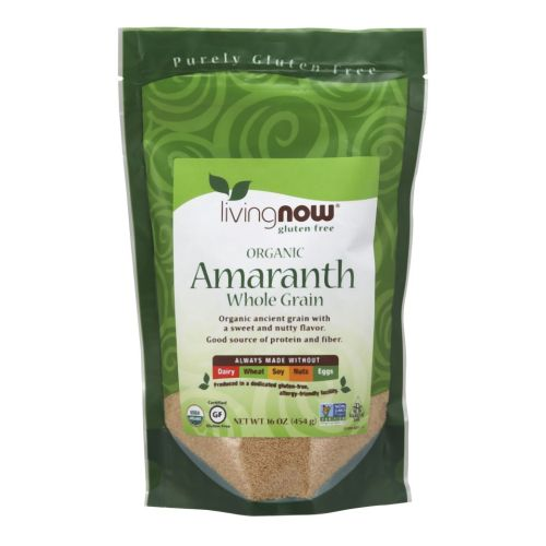 Amaranth Grain Organic 1 lb by Now Foods