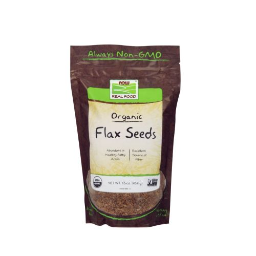 Flax Seed Organic 1 lb by Now Foods