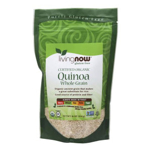 Quinoa Grain Organic 1 lb by Now Foods (2587305771093)