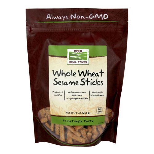 Sesame Sticks Salted (Whole Wheated) 9 oz by Now Foods