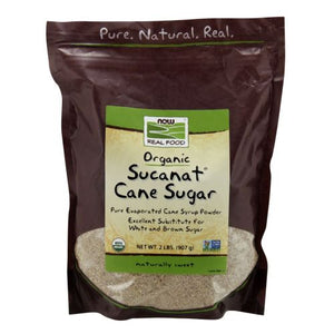Sucanat Organic 2 lb by Now Foods (2587307180117)