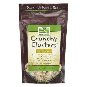 Crunchy Clusters Crunch Cashew 9 oz by Now Foods (2587307442261)