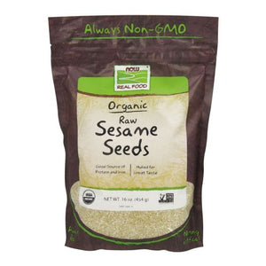Sesame Seeds Hulled 1 lb by Now Foods