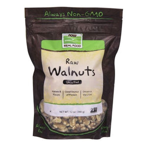 Walnuts Halves & Pieces Raw 12 Oz by Now Foods
