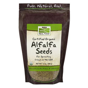 Alfalfa Seeds 12 oz by Now Foods (2587308064853)