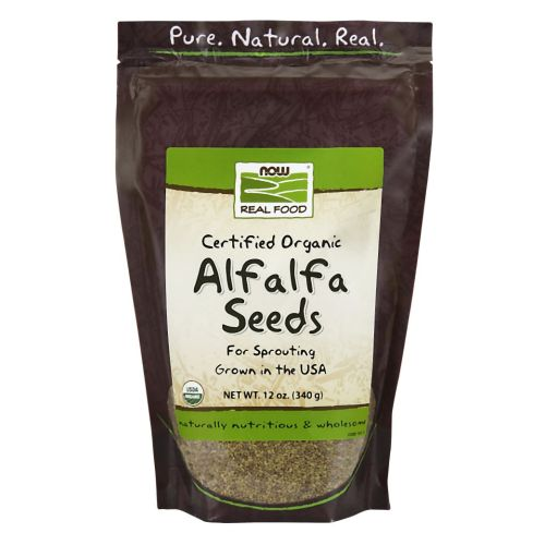 Alfalfa Seeds 12 oz by Now Foods