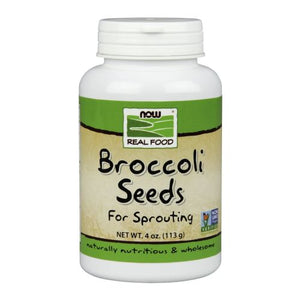 Broccoli Seeds 4 oz by Now Foods (2587308097621)