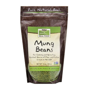 Mung Beans 1 lb by Now Foods (2587308195925)