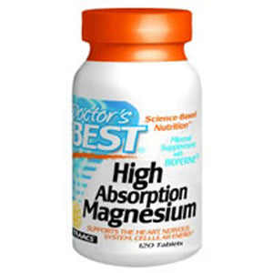 High Absorption Magnesium 240 Tabs by Doctors Best (2588913336405)