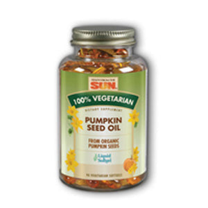 Pumpkin Seed Oil 90 Softgels by Health From The Sun