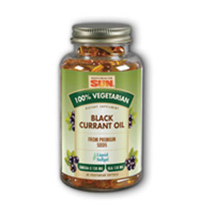 Black Currant Oil 60 Soft Gels by Health From The Sun (2589114925141)