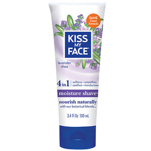Moisture Shave Lavender & Shea 3.4 oz by Kiss My Face