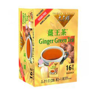 Ginger Green Tea 16 bags by Prince Of Peace (2589117874261)