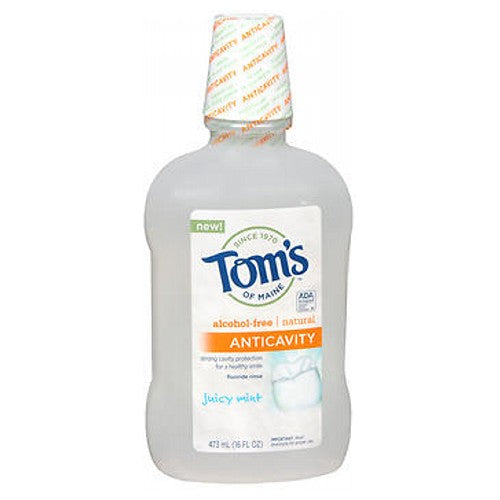 Anticavity Juicy Mint Fluoride Rinse 16 oz by Tom's Of Maine